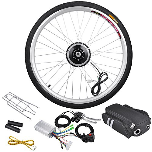 "Recumbent Bike Electric Motor Kit: AW 26"" Front Wheel Electric Bicycle Motor Kit 36V 250W Pro"